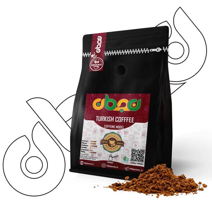 قهوه ترک نجمان مدل کافئینه ۵۰۰گرمی