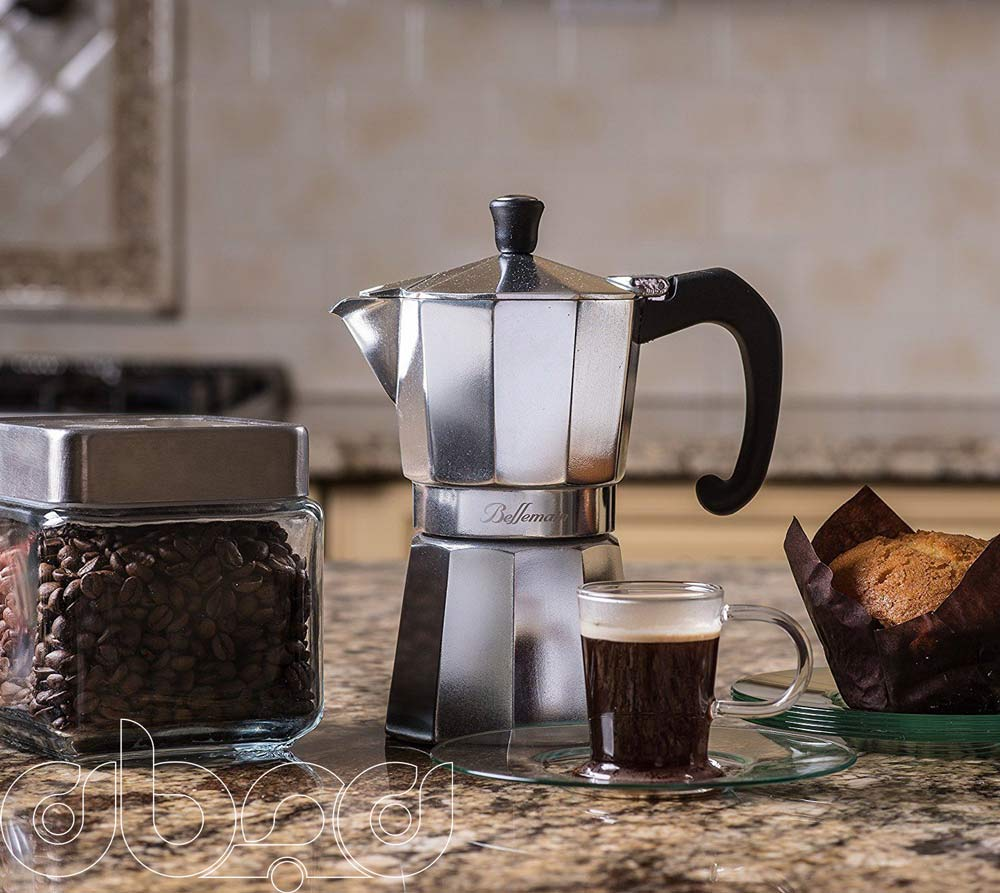 طرز تهیه قهوه اسپرسو با موکاپات