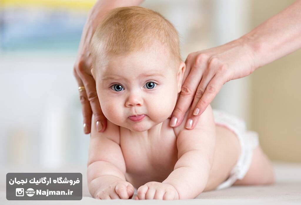 روغن ماساژ نوزاد